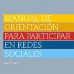 Manual de orientación para participar en las redes sociales
