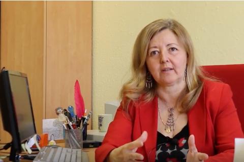Carmen Salgado, docente de la Universidad Complutense de Madrid